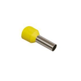 Наконечник-гильза IEK Е1008, 1 кв.мм, изолированный, уп. 100 шт, UGN10-001-D14-08