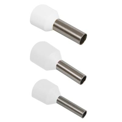 Наконечник-гильза IEK Е7508, 0.8 кв.мм, изолированный, уп. 100 шт, UGN10-C75-02-08