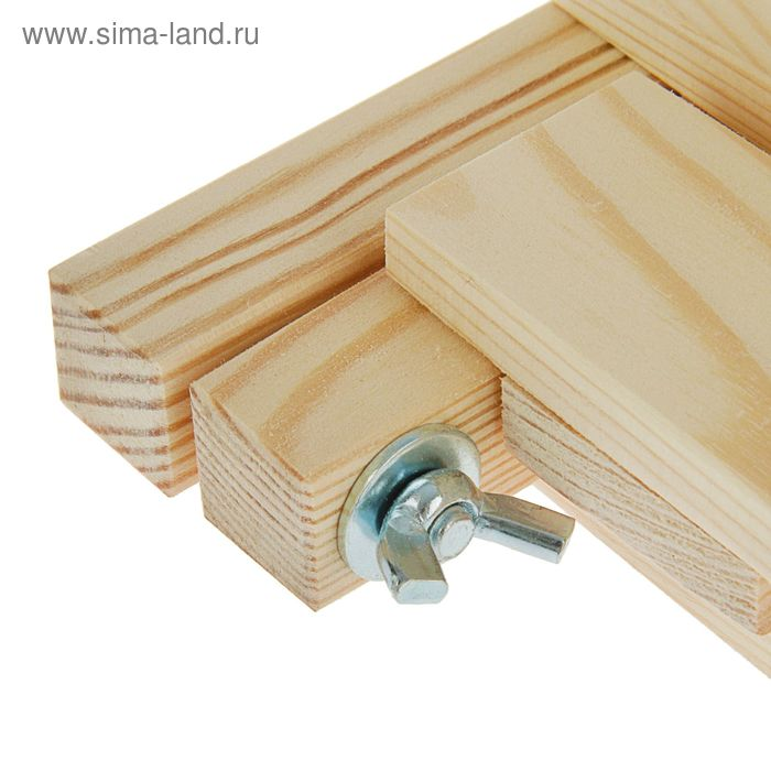 Мольберт настольный, каркасный, складной, 450 х 330 х 440 мм, №1