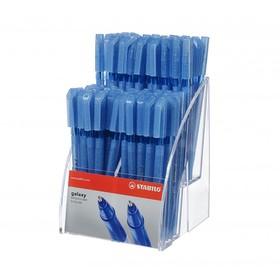 Ручка шариковая Stabilo Galaxy 818, узел 0.3 мм, чернила синие, в дисплее, микс
