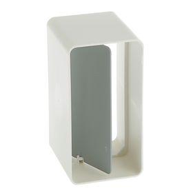 Соединитель прямоугольных каналов VENTS, с обратным клапаном, 55 х 110 мм Ош