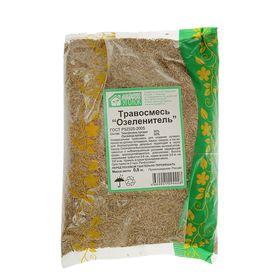 """Газонная травосмесь """"Зеленый уголок"""" озеленитель"""" 0,8 кг"""