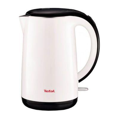 Чайник электрический Tefal KO260130, пластик, 1.7 л, 2400 Вт, бело-черный - Фото 1