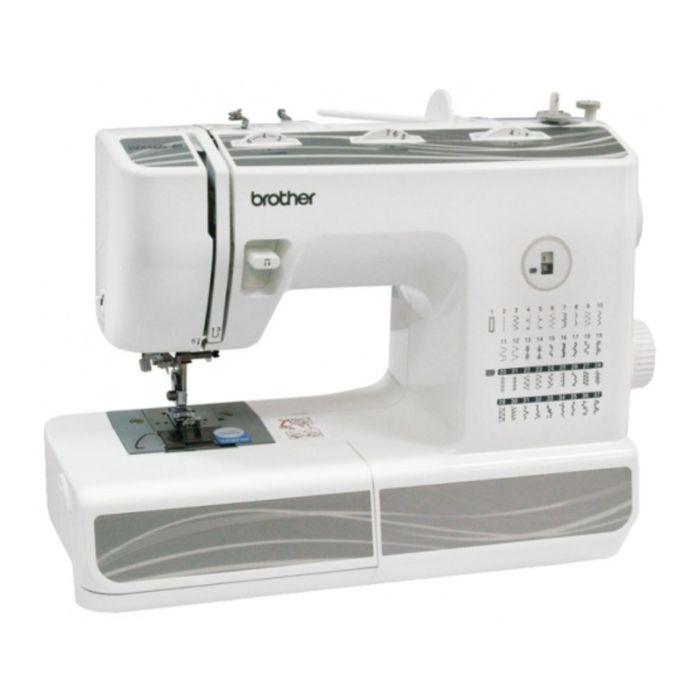 Швейная машина Brother Classic 40, 37 опер, обметочная, эластичная, потайная строчка, белый