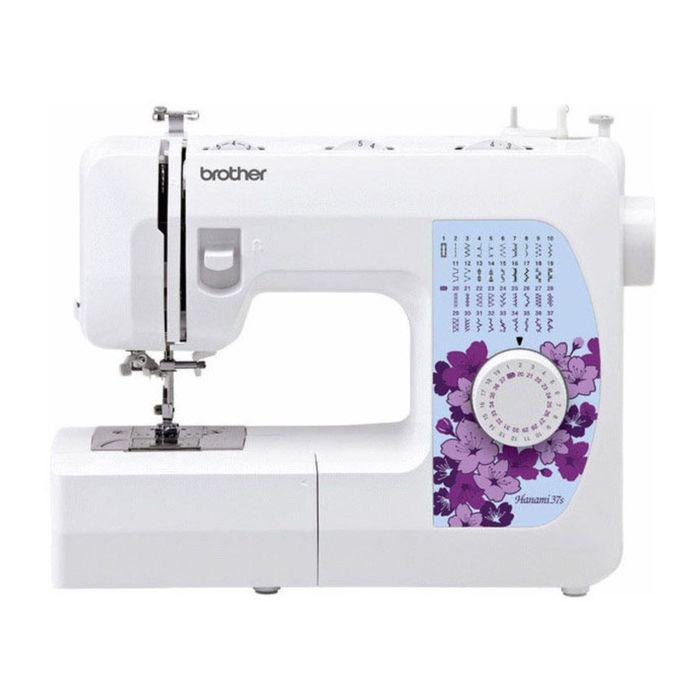 Швейная машина Brother Hanami 37s, 66 Вт, 37 операций, автомат, бело-голубая