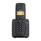 Радиотелефон Dect Gigaset A120 чёрный, АОН