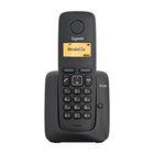 Радиотелефон Dect Gigaset A120A чёрный, автооветчик АОН