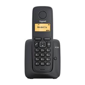 Радиотелефон Gigaset Dect A120A автоответчик, АОН, чёрный