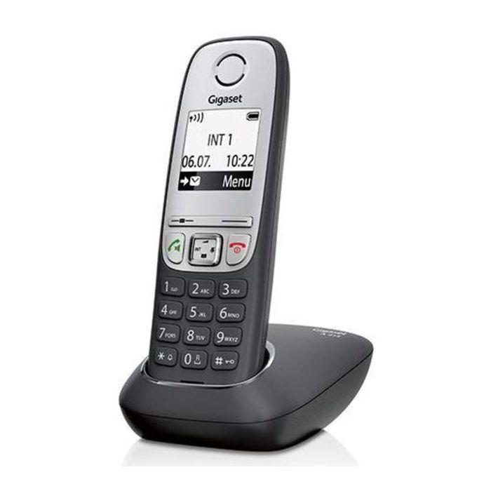 Радиотелефон Dect Gigaset A415 чёрный, АОН