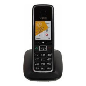 Радиотелефон Dect Gigaset C530 чёрный, АОН