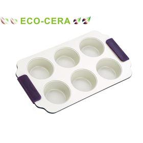 Форма для кексов 18х25х3 см, 6 ячеек