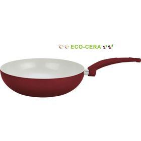 Сковорода ВОК 28 см, 3 л, цвет МИКС