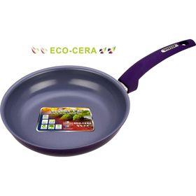 Сковорода 24 см, цвет МИКС