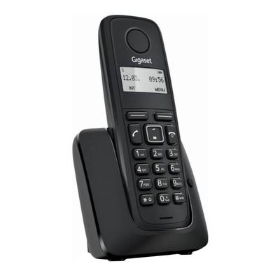 Радиотелефон Dect Gigaset A116 чёрный, АОН - Фото 1