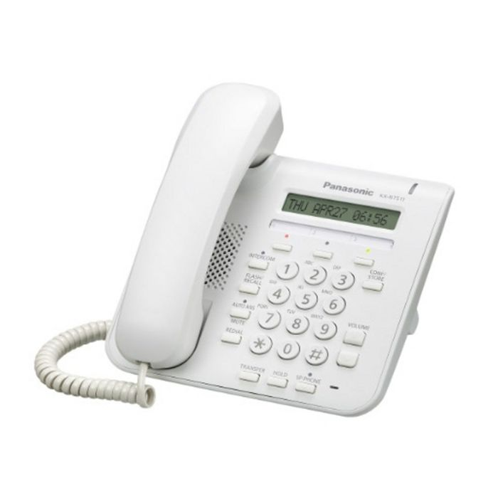 Телефон IP Panasonic KX-NT511ARUW