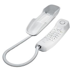 Телефон проводной Gigaset DA210 белый Ош