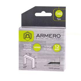 Скобы для степлера ARMERO, тип 140, 12 мм, заостренный наконечник, 100 шт.