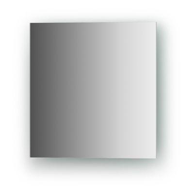Зеркальная плитка со шлифованной кромкой квадрат 25 х 25 см, серебро Evoform