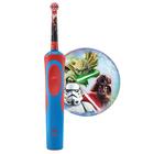 Зубная щетка электрическая Oral-B StagesPower StarWars красный/синий