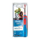 Электрическая зубная щётка Oral-B StagesPower StarWars, таймер, красно-синяя