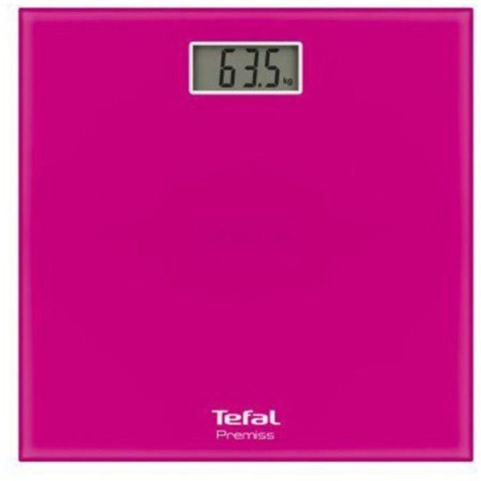 Весы напольные Tefal PP1063V0, электронные, до 150 кг, розовые
