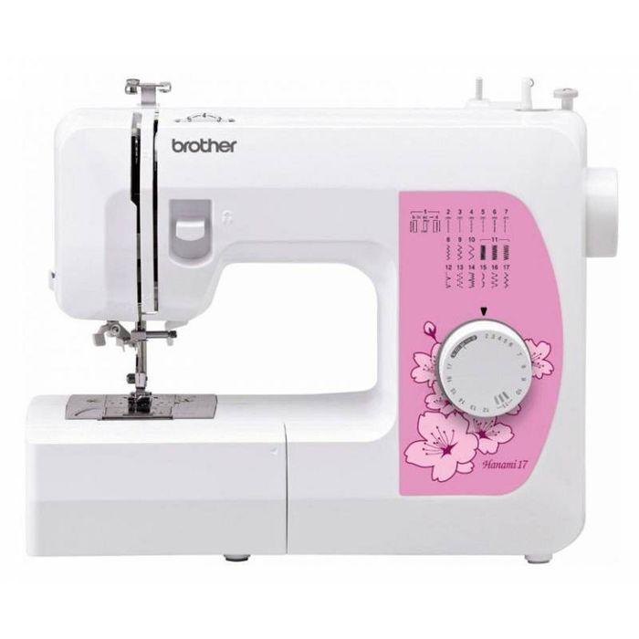 Швейная машина Brother Hanami-17, 17 операций, потайная, эластичная строчка