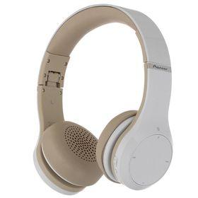 Наушники Pioneer SE-MJ771BT-W, Bluetooth, накладные, белые
