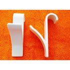 Набор крючков для полотенцесушителя 2 шт, цвет белый