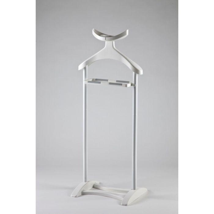 Вешалка напольная для одежды, цвет белый