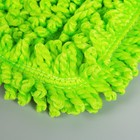 Насадка для плоской швабры Доляна, 40×10 см, микрофибра, цвет МИКС - Фото 3