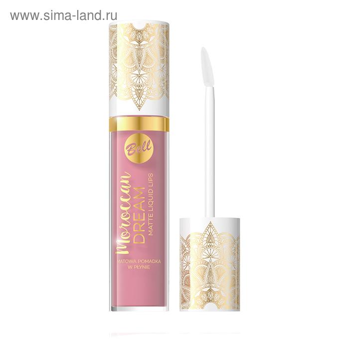 Жидкая матовая помада для губ Bell, Bell Moroccan Dream Matte Liquid Lips, тон 02