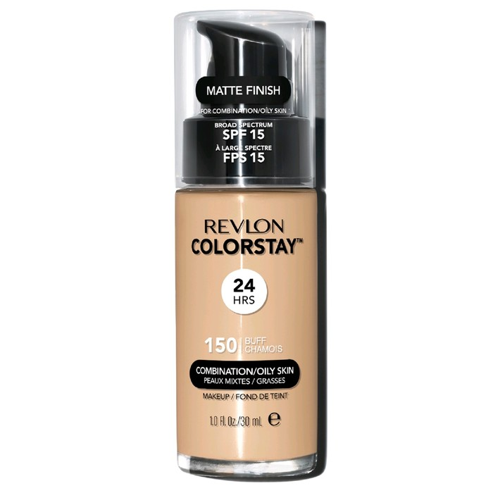 Тональный крем Revlon Colorstay Makeup For Combination для жирной кожи, тон Buff 150