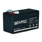 Аккумуляторная батарея Security Force SF 12012, 12 В, 1.2 А/ч
