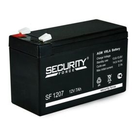 Аккумуляторная батарея Security Force SF 1207, 12 В, 7 А/ч Ош