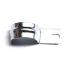 Скоба DKC 53339 металлическая, оцинкованная, однолапчатая d=10-11мм