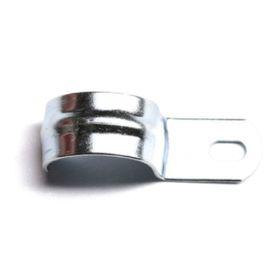 Скоба 'ДКС' 53340 металлическая, оцинкованная, однолапчатая d=12-13мм Ош