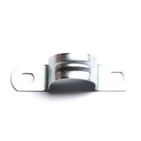 Скоба DKC 53356 металлическая, оцинкованная, двухлапчатая, d=22мм Ош