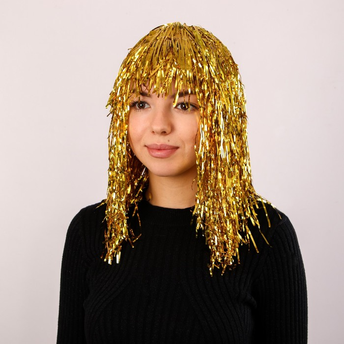 Карнавальный парик Дождь, 45 см, цвета МИКС