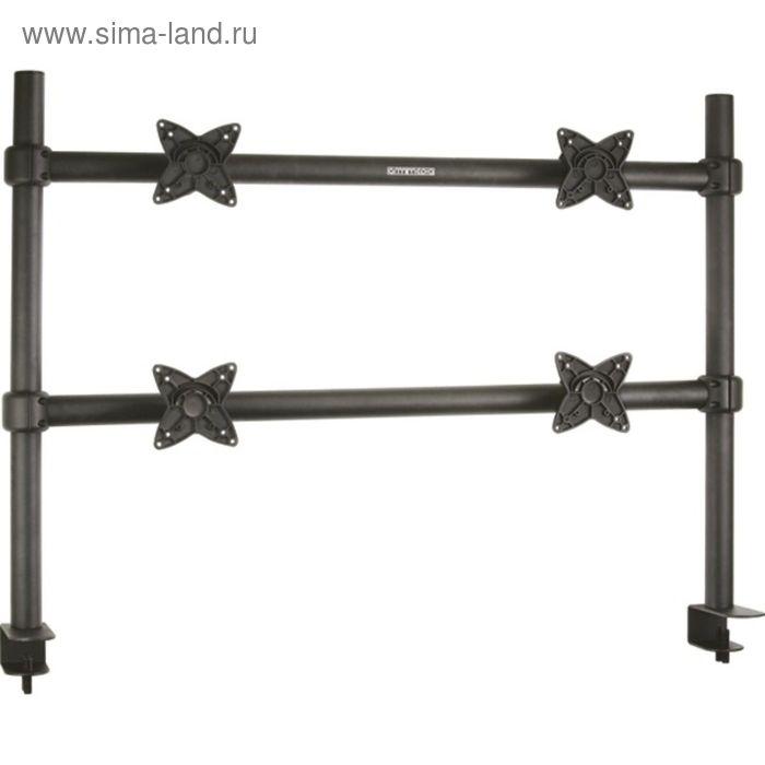 """Кронштейн Arm Media LCD-T4, для монитора, 10""""-24"""", до 60 кг, черный"""