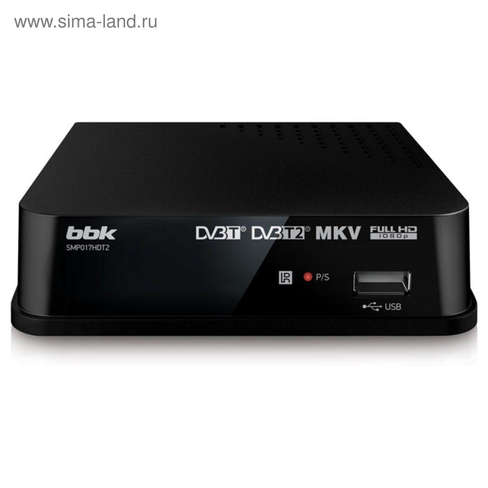 Цифровой тв приставка bbk