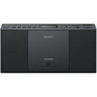 Аудиомагнитола Sony ZS-PE60 черная 2.2Вт/CD/CDRW/MP3/FM(dig)/USB