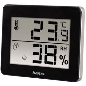 Термометр Hama TH-130, комнатной, чёрный Ош