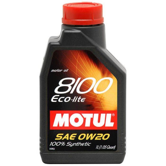 Масло моторное Motul 8100 ECO-lite 0w-20, 1 л