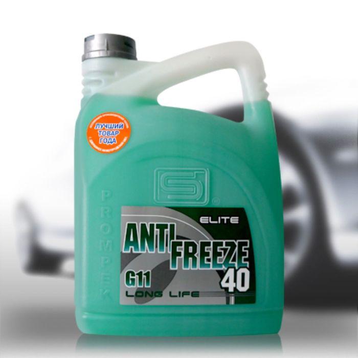 """Антифриз """"Промпэк"""" 40 Elite G11, зеленый, 5 кг"""