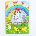 Пазл «Курица и радуга» 6 элементов - Фото 2