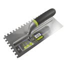 Гладилка ARMERO, 280х130 мм, зуб 10х10 мм, нержавеющая сталь