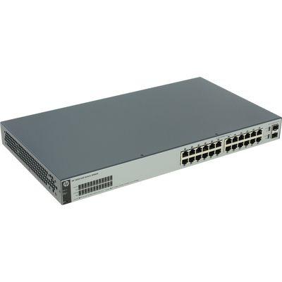 Коммутатор HPE 1820-24G J9980A управляемый 19U 24x10/100/1000BASE-T - Фото 1