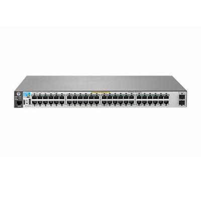 Коммутатор HPE 2530-48 J9781A управляемый 19U 48x10/100BASE-TX 2x10/100/1000BASE-T - Фото 1