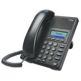 Телефон IP D-Link DPH-120S/F1A черный