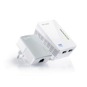 Сетевой адаптер HomePlug AV/WiFi TP-Link TL-WPA4220KIT Ош